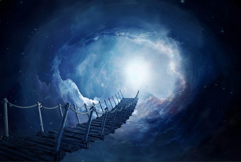 Magic Portal Magic Bridge And Clouds Nursery For