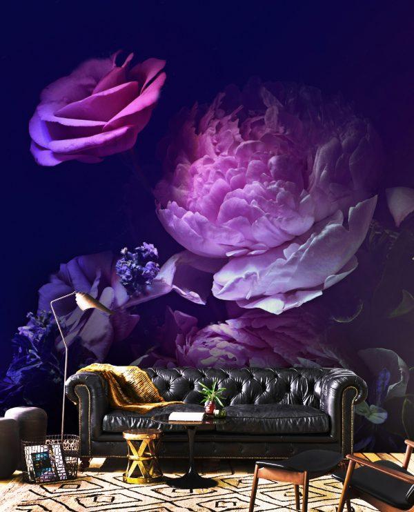 wallpaper peony peonies flowers oliprint_art