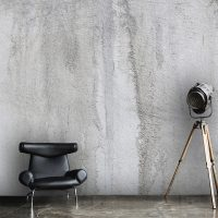 Wallpaper, Concrete Industrial Wall Art, Peel and Stick,  Large Photo, Vinyl, Self Adhesive, Wall Mural