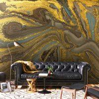 Wallpaper,Gold Sequins,Abstract,   Self Adhesive,Vinyl,Wall mural