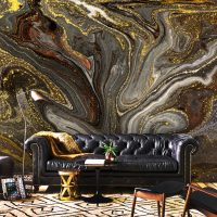 CUSTOM ORDER,       Vinyl H113.5inches x W144 inches   Wallpaper,Gold,Brown,Black,Abstract Luxury,Sparkles