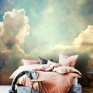 sky wallpapersky wall mural self adhesive peel and stick 3D wall mural clouds