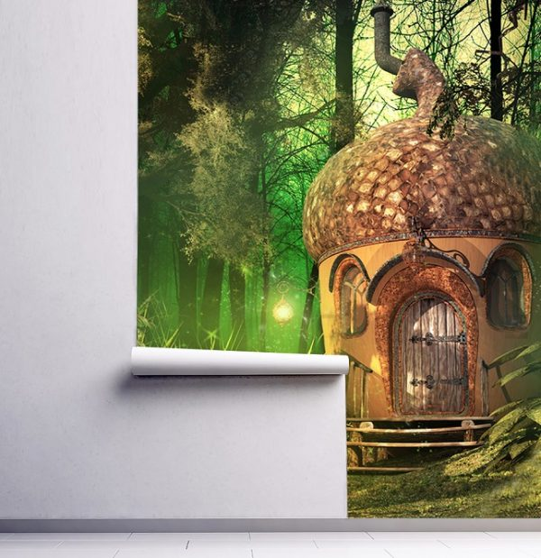wallpaper nursery nut wallpaper wall mural fairy forest